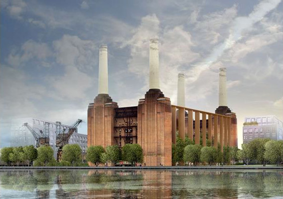 New Scheme For Battersea Power Station