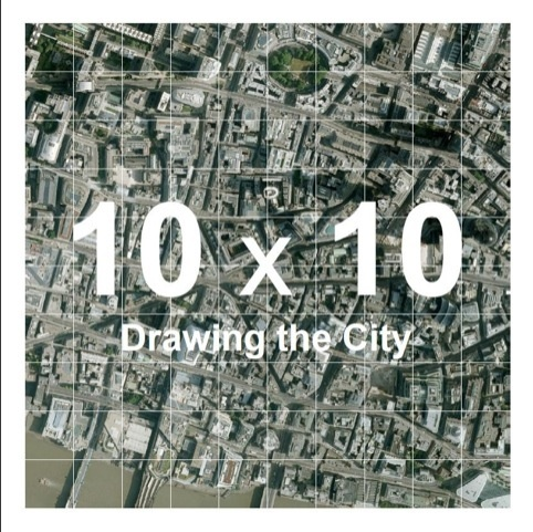 How the City was gridded up.