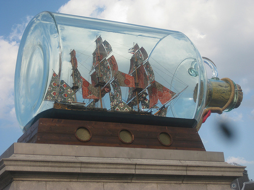 National Maritime Museum Campaign to Buy Nelson's Ship in a Bottle