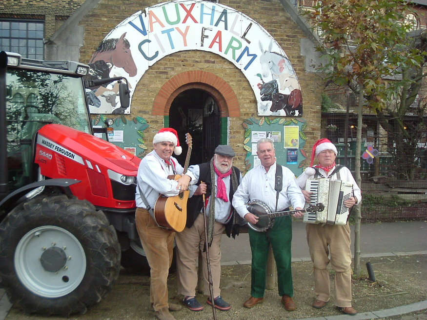 The Wurzels Give Christmas to City Farm