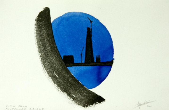 Ian Ritchie offers an almost abstract glimpse of the Shard.