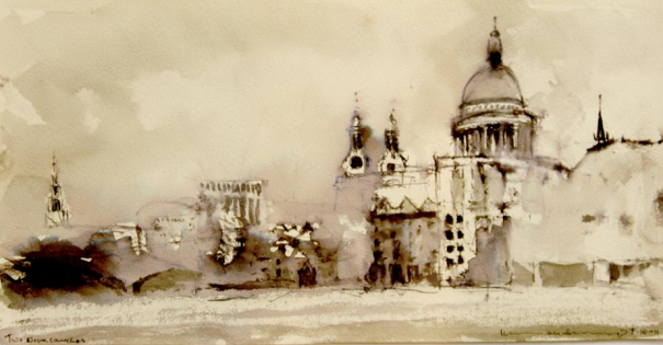 architectural drawings of famous buildings. Perfect Drawings Famous Artists And Architects Draw The City Norman Ackroyd Offers This  View Of St Paulu0027s To Architectural Drawings Of Buildings