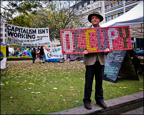 Occupy Camp 2 by Sven Loach