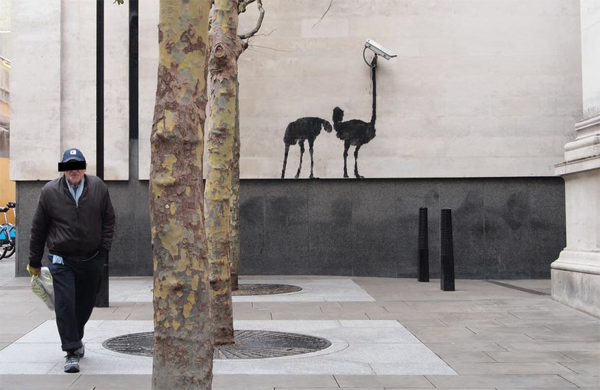 National Gallery Bansky via banksy.co.uk
