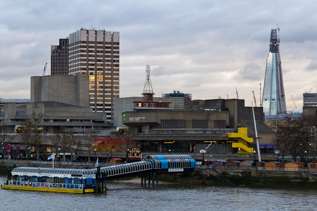 From Hungerford Bridge