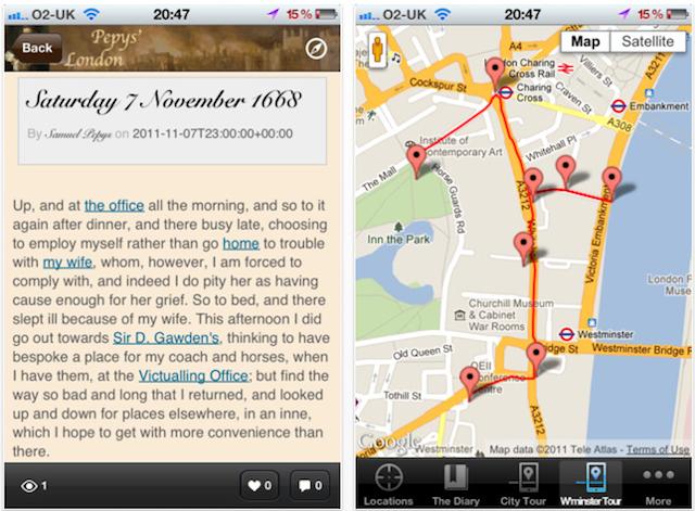 App Review: Pepys' London