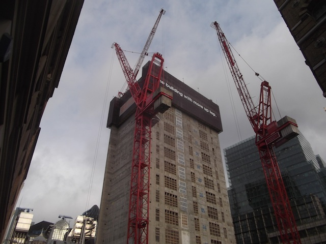 Walkie Talkie Building Rapidly Growing In City