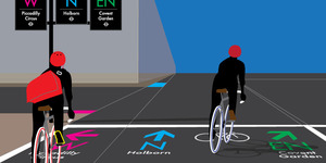 London Designer Has A New Take On Cycle Wayfinding