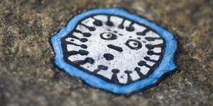 Ben Wilson's Chewing Gum Art @ Trinity Buoy Wharf