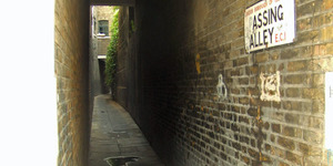 Talk: London's Alleyways And Passages @ London Transport Museum