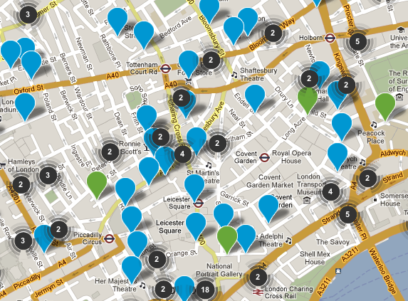 Mapped: London's Cycle Accident Blackspots