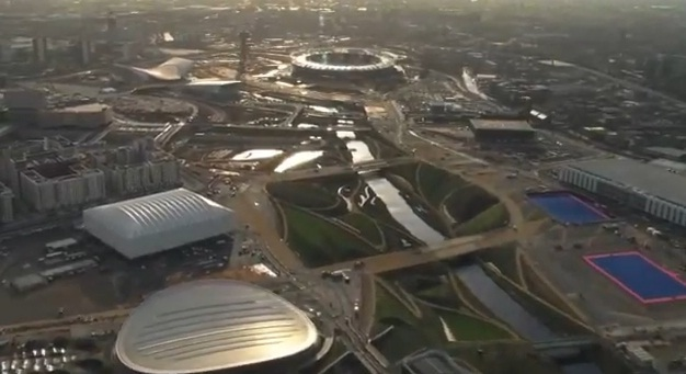 Video: A Tour Around The Olympic Park