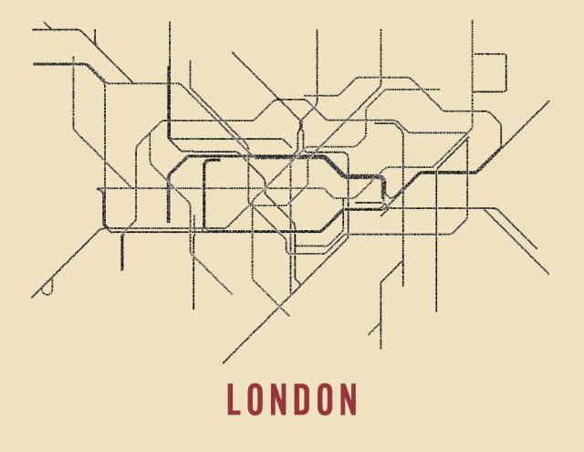 Maps: The Typographical Tube And Great Fire Of London In 3D