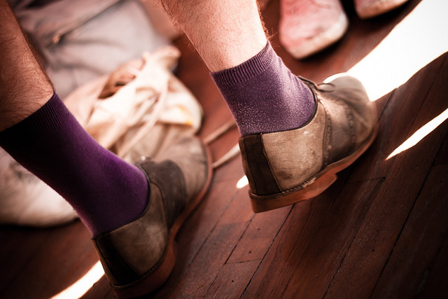 PuRpLe sOcKs by milly.pix