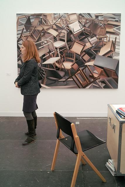 Chairs, Frieze Art Fair by shadowjumper