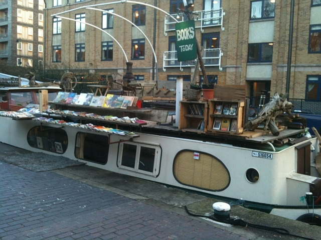 A Book Barge Returns To London's Canals