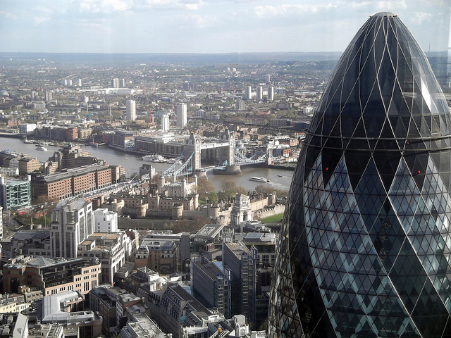 Race Up The Gherkin For Childline