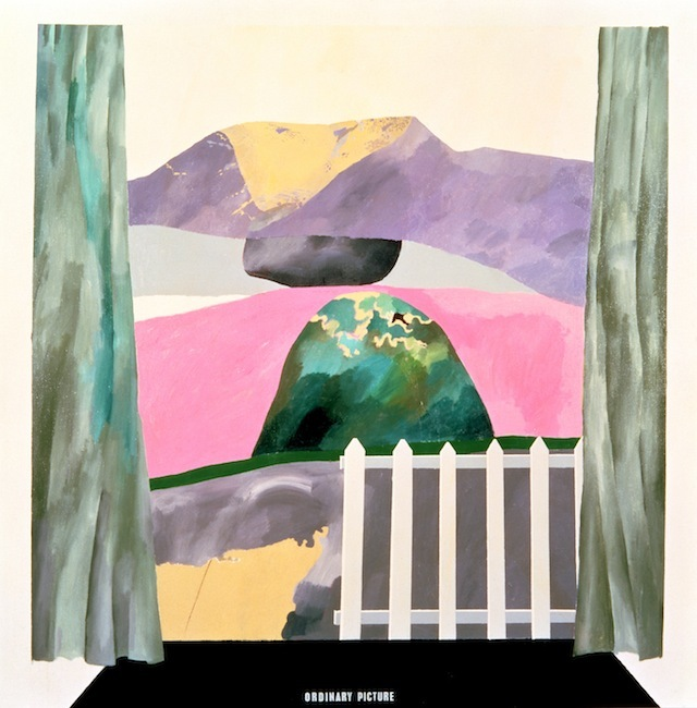 """ORDINARY PICTURE"" 1964 ACRYLIC ON CANVAS 72 X 72"" �© DAVID HOCKNEY COLLECTION: HIRSHHORN MUSEUM, SMITHSONIAN INSTITUTION, WASHINGTON, D.C."