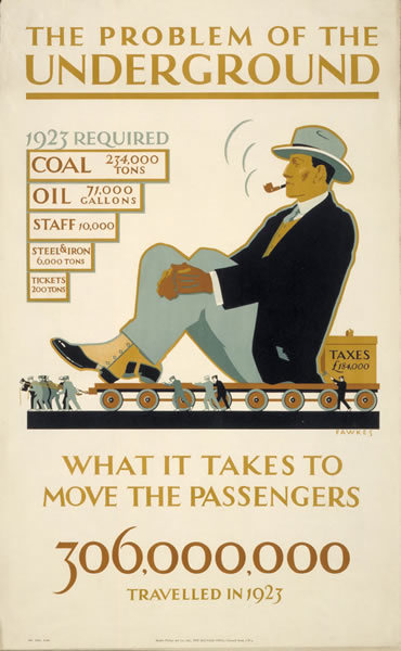 What It Takes to Move The Passengers by Irene Fawkes (1924)