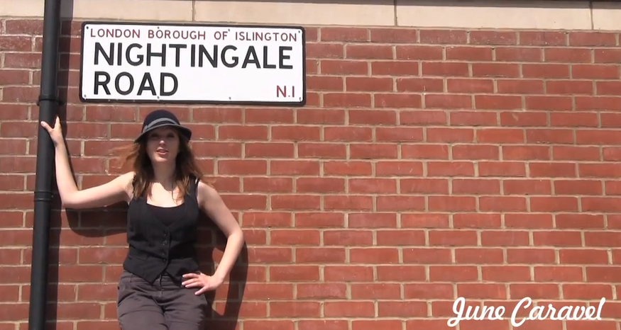 Video: London Song By June Caravel