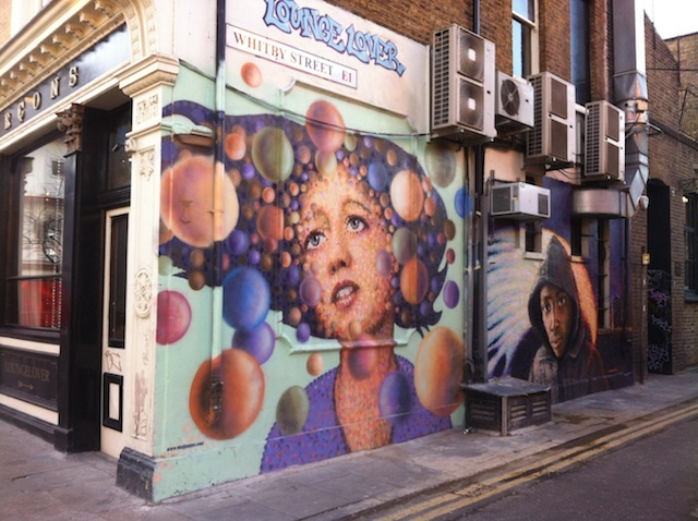 Street Art: Jimmy C Brightens Up Whitby Street