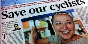 Times Launches Cycle Safety Campaign As Journalist Remains In Coma