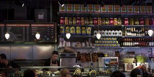 What's for Lunch? Comptoir Libanais, South Kensington