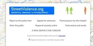 New Street Crime Reporting Website Launched