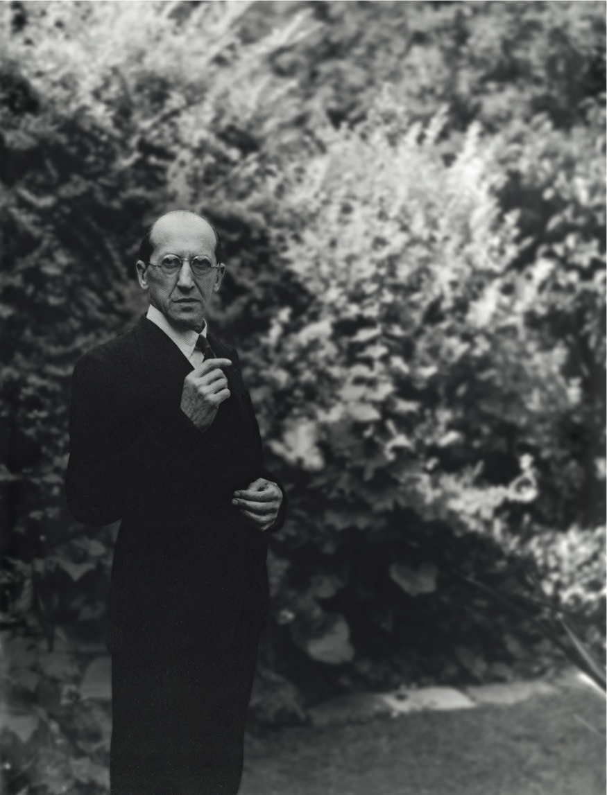 Piet Mondrian in Hampstead, c. 1939-1940 Photograph by John Cecil Stephenson  © Estate of John Cecil Stephenson/Tate Archive