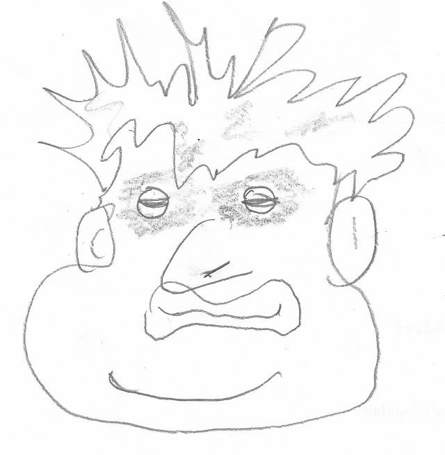 Pictures Of Boris Johnson Sketched By London Bloggers