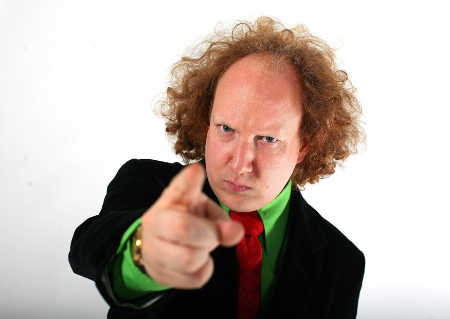 Comedian Andy Zaltzman at the Holbourne studios, London Pic - David Bebber      BUGLE