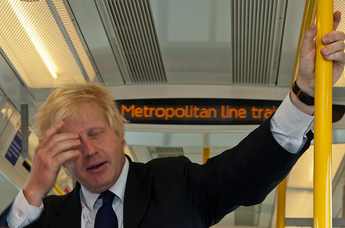 Boris In New Election Material Gaffe