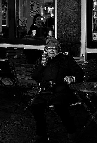 Cold Calling in Covent Garden by jaykay72