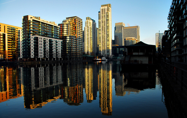 Millwall Dock, on the Isle of Dogs, by richwat2011