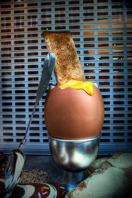 Egg and soldier.