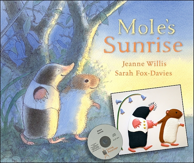 Cover of Mole's Sunrise by Jeanne Willis