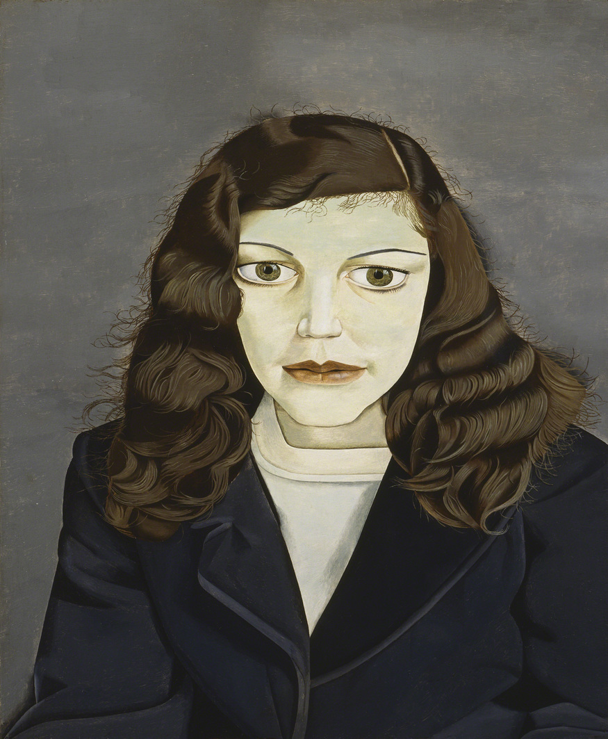 Girl in a Dark Jacket, 1947. Private Collection © The Lucian Freud Archive. Photo: Courtesy Lucian Freud Archive