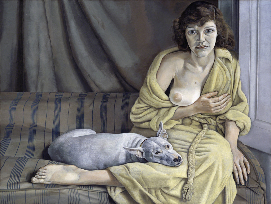 Girl with a White Dog, 1950-1. Purchased 1952 © Tate, London 2012