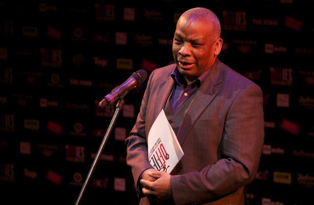 Don Warrington handed out the People's Awards