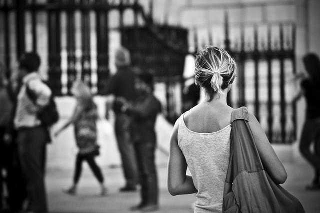 Outside St Paul's, by Luke O'Regan