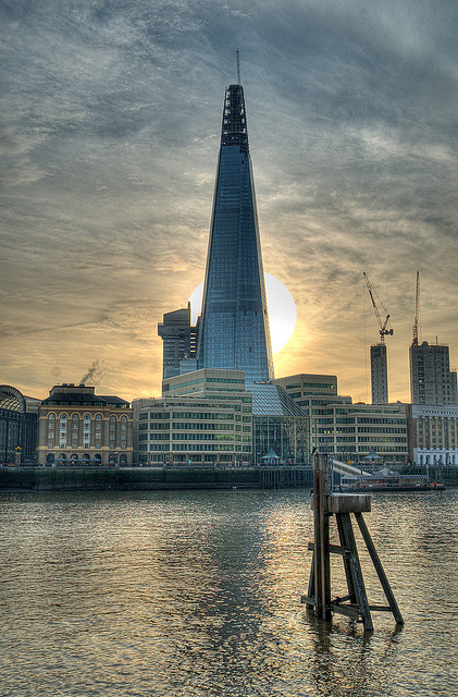 A messianic shot of The Shard, by Kris Doubleyou