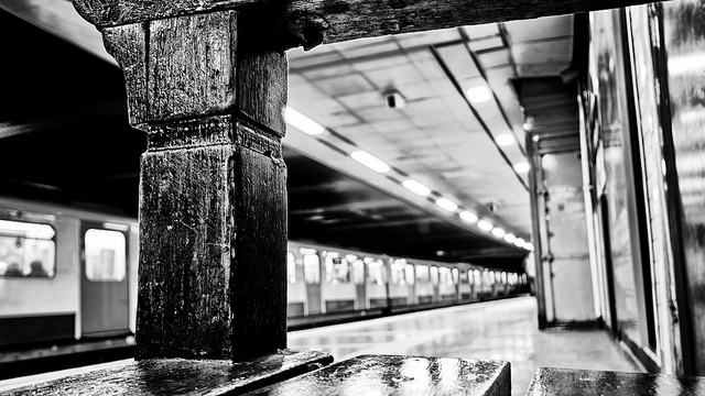 The view from a tube bench, by Alan-S2011