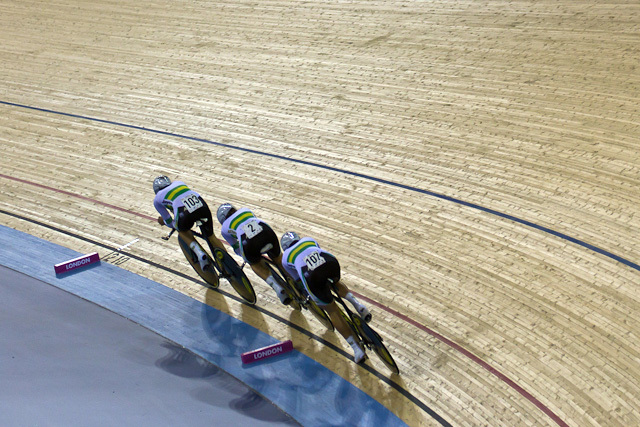 In Pictures: Track Cycling World Cup @ The Olympic Velodrome