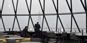 What's for Lunch? Searcys, The Gherkin