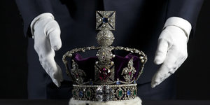 Crown Jewels Redisplayed Ahead of the Queen's Diamond Jubilee