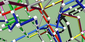 A 3-D London Tube Map