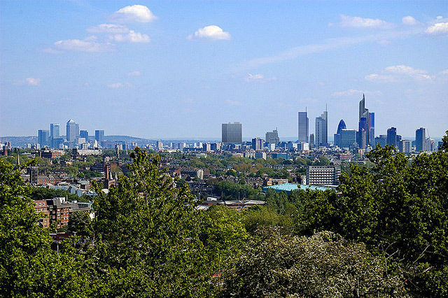 Boris, Ken And The London Skyline