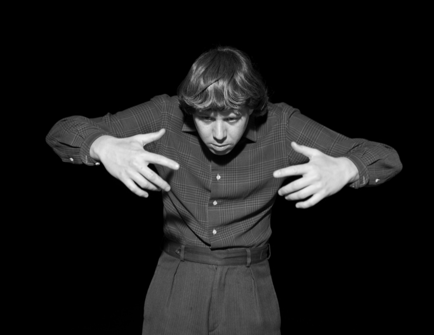 Joachim Koester, To navigate, in a genuine way, in the unknown necessitates an attitude of daring, but not one of recklessness (movements generated from the Magical Passes of Carlos Castaneda), 2009, Still from 16 mm film. Courtesy the artist and Nicolai Wallner Gallery, Copenhagen, Denmark