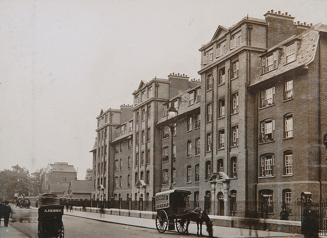 The Fulham estate was constructed for Peabody in 1912.