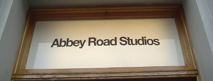 Abbey Road door sign